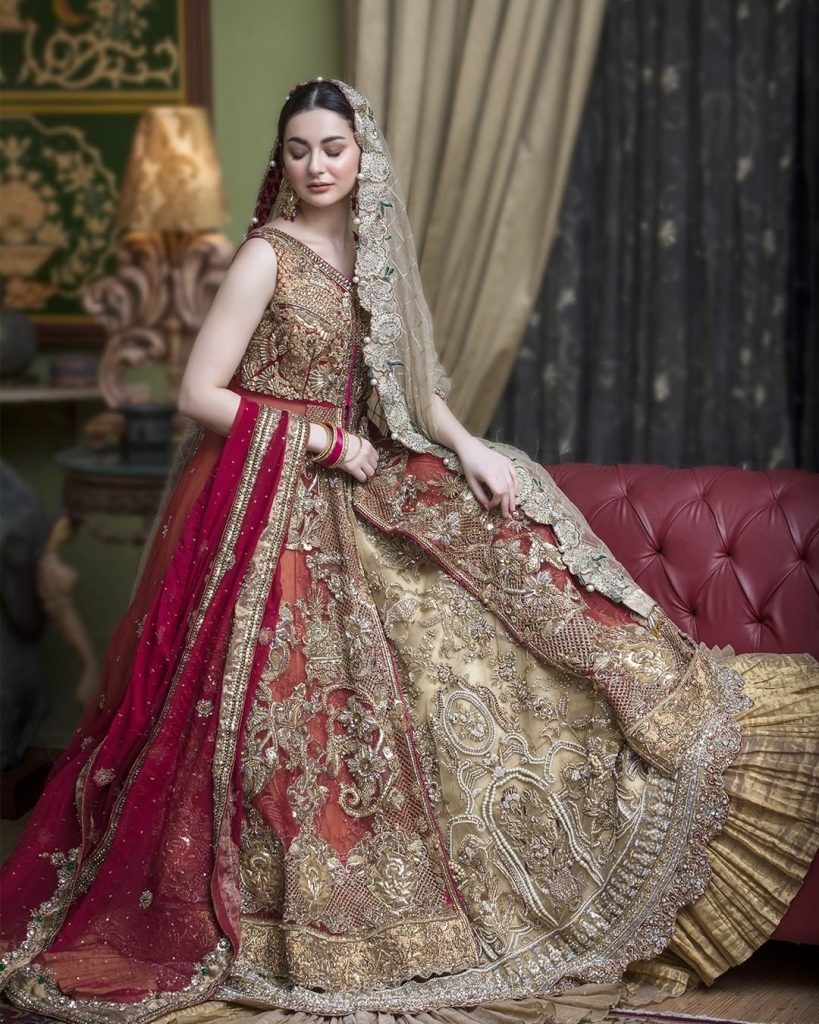 Hania Amir Looks Magnificent In Latest Shoot