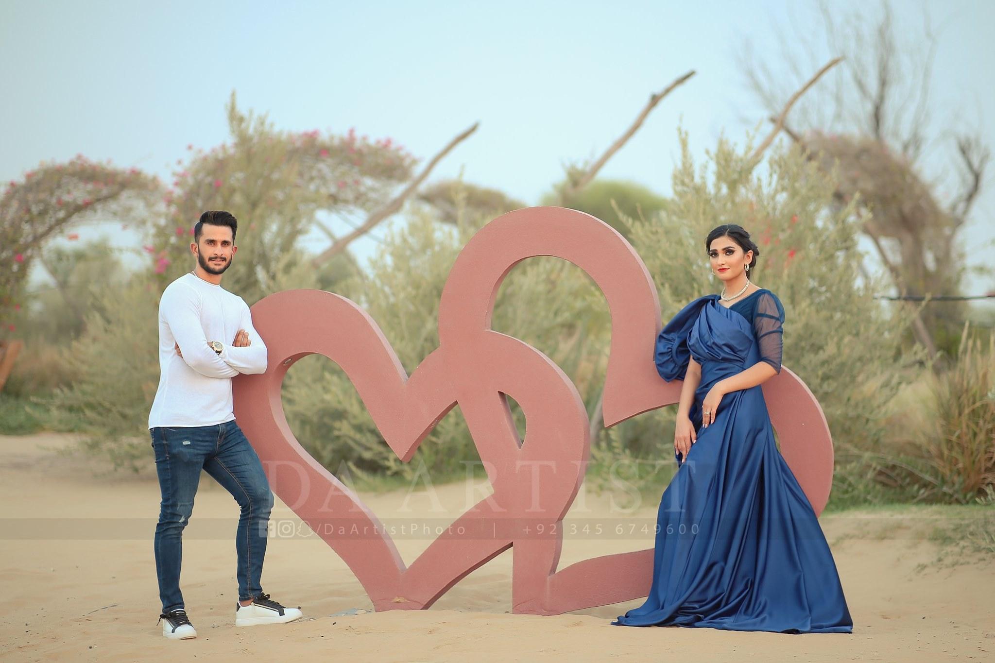 Hassan and Samiya 1st Wedding Anniversary Photoshoot