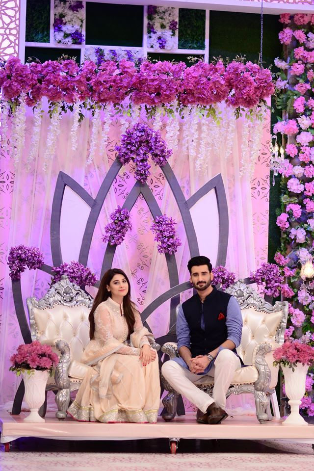 Hina Altaf and Agha Ali Pictures From Good Morning Pakistan 14