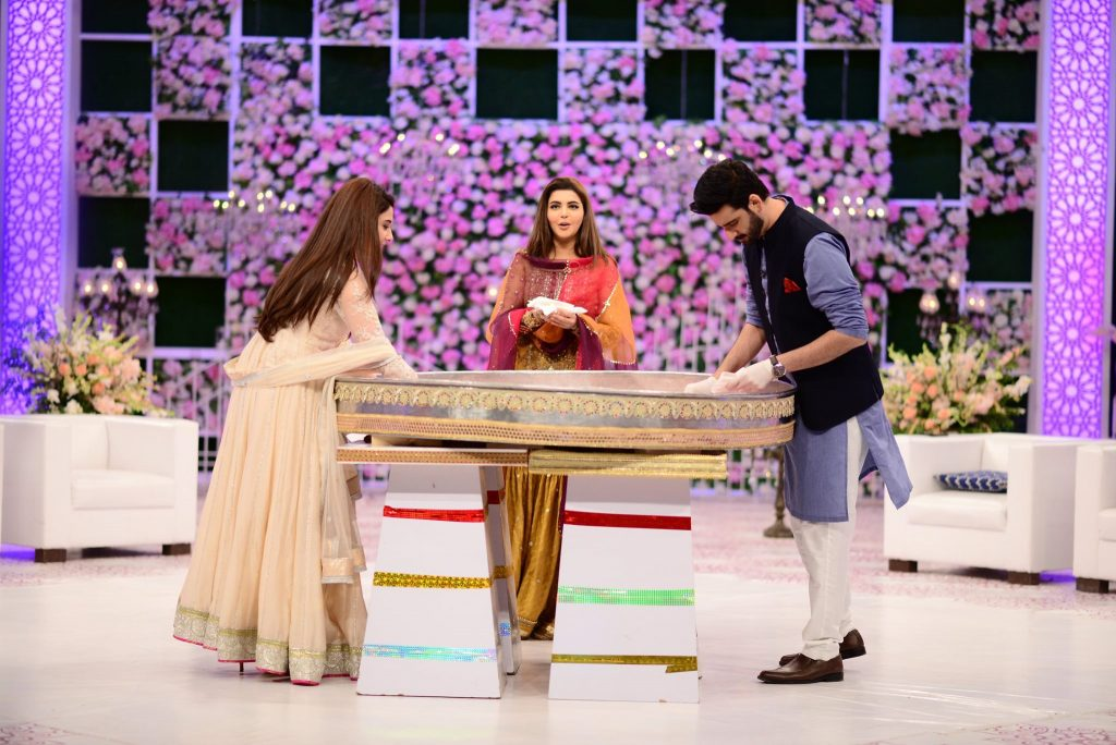 Hina Altaf and Agha Ali Pictures From Good Morning Pakistan 29
