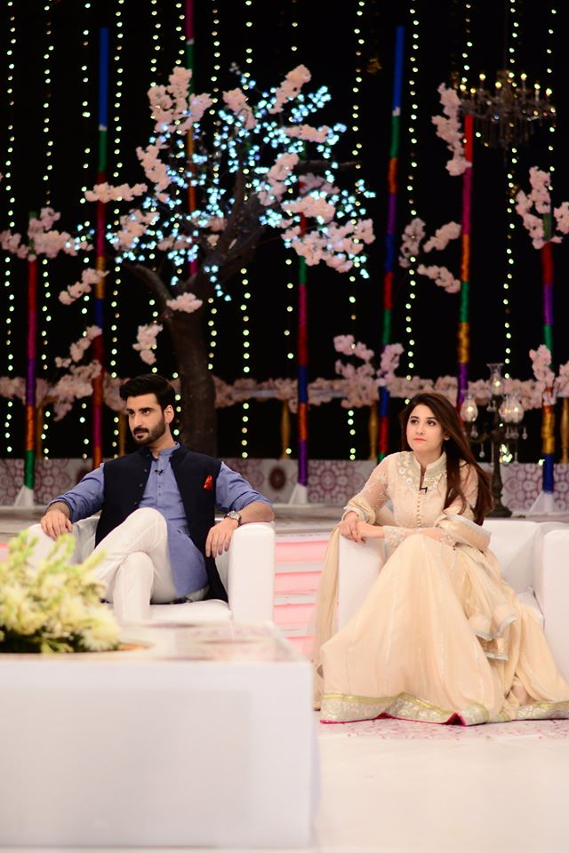 Hina Altaf and Agha Ali Pictures From Good Morning Pakistan 30