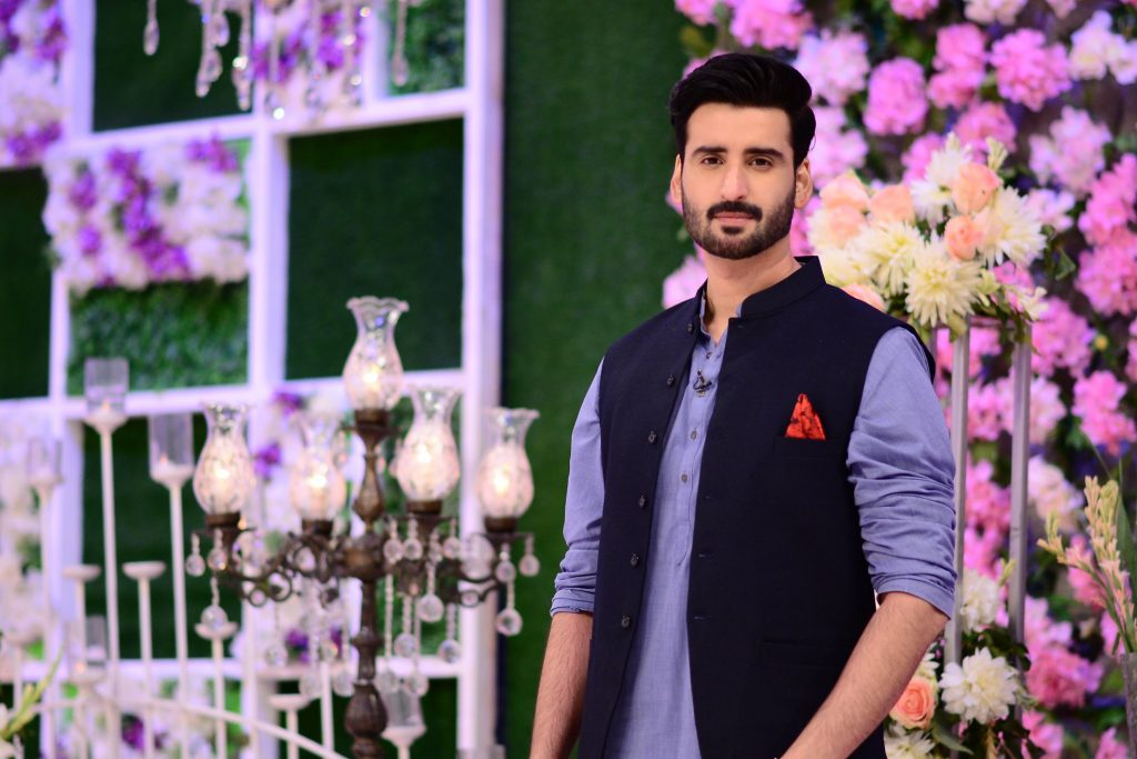 Hina Altaf and Agha Ali Pictures From Good Morning Pakistan 31