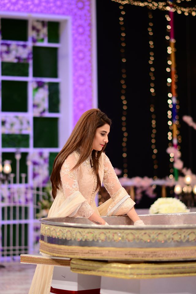Hina Altaf and Agha Ali Pictures From Good Morning Pakistan