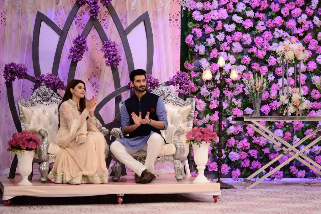Hina Altaf and Agha Ali Pictures From Good Morning Pakistan 9