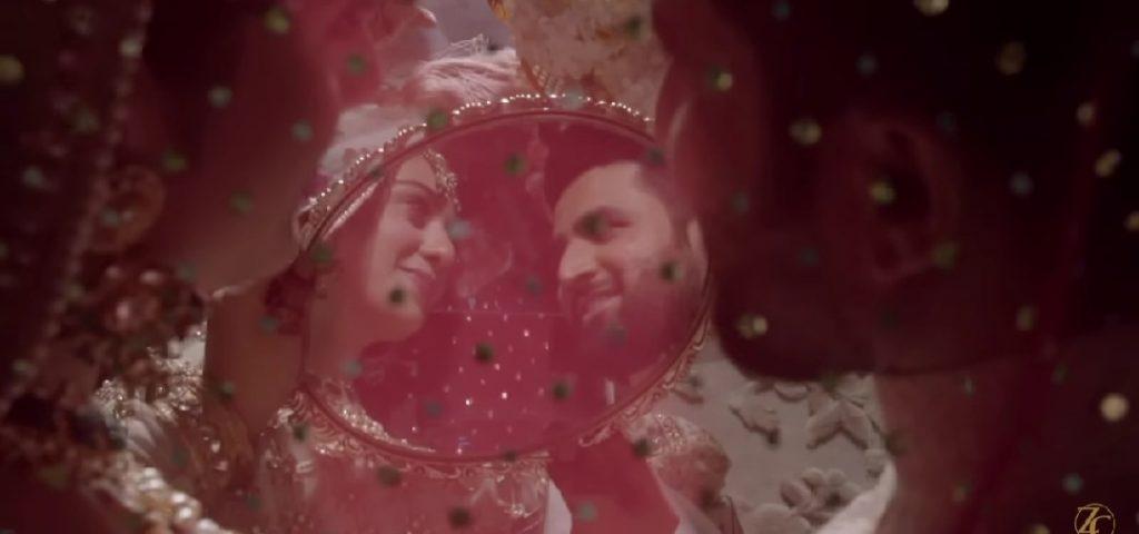 Zainab Chottani Recreated The Nikkah Ceremony Of Sarah Khan And Falak Shabir