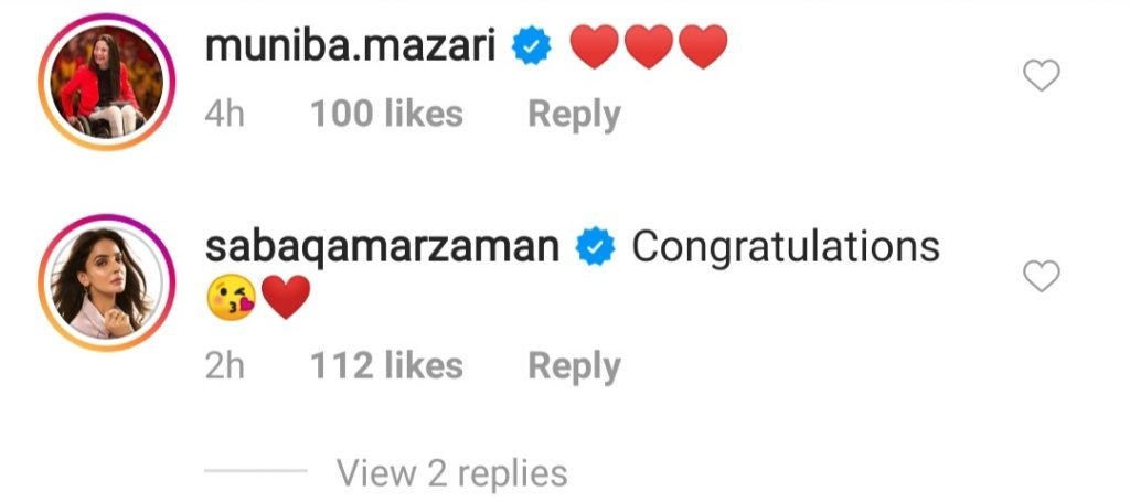 Aamina Sheikh Got Engaged