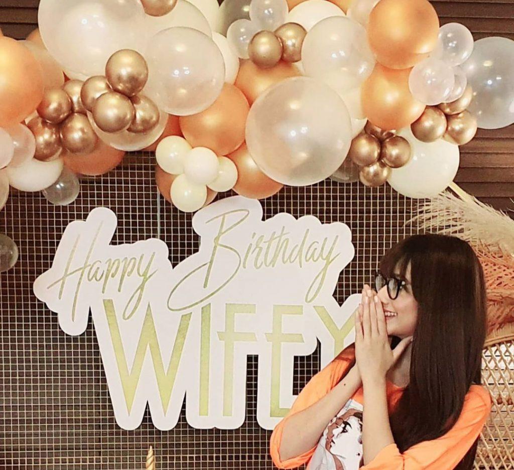 Zarnish Khan's Husband Gave Her Birthday Surprise