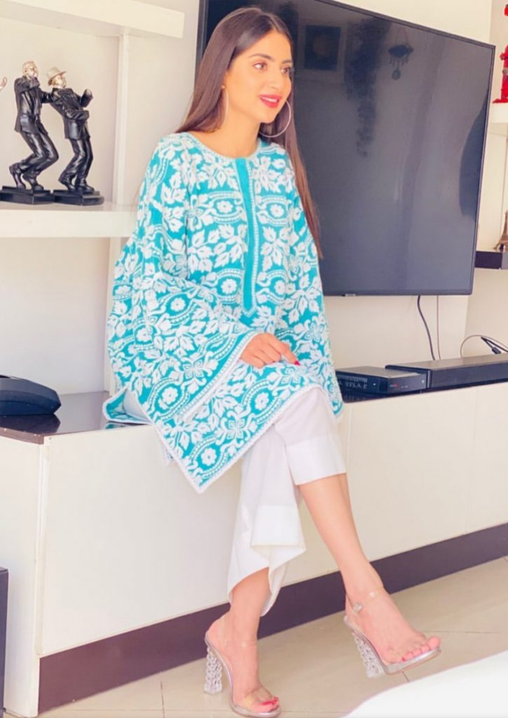Recent Clicks Of Actress Saboor Aly