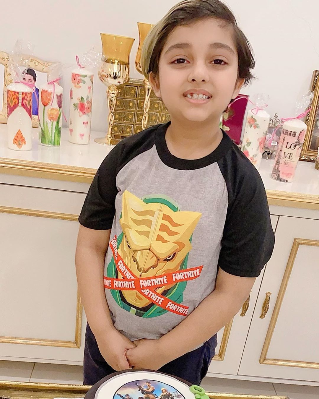 Javeria and Saud Son Ibrahim's 9th Birthday Pictures