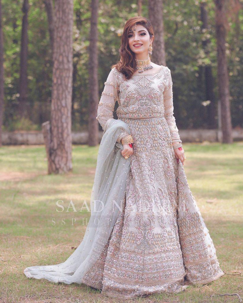 Kinza Hashmi Looks Elegant In Latest Bridal Shoot
