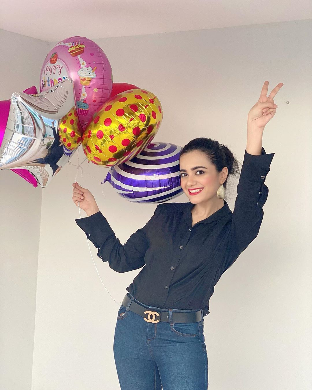 Actress Kompal Iqbal Beautiful Birthday Pictures
