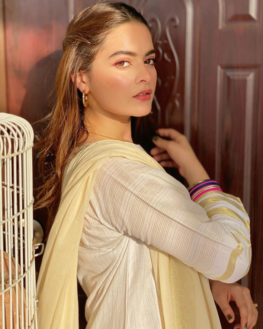 Beautiful Eid ul Adha Day1 Pictures of Minal Khan