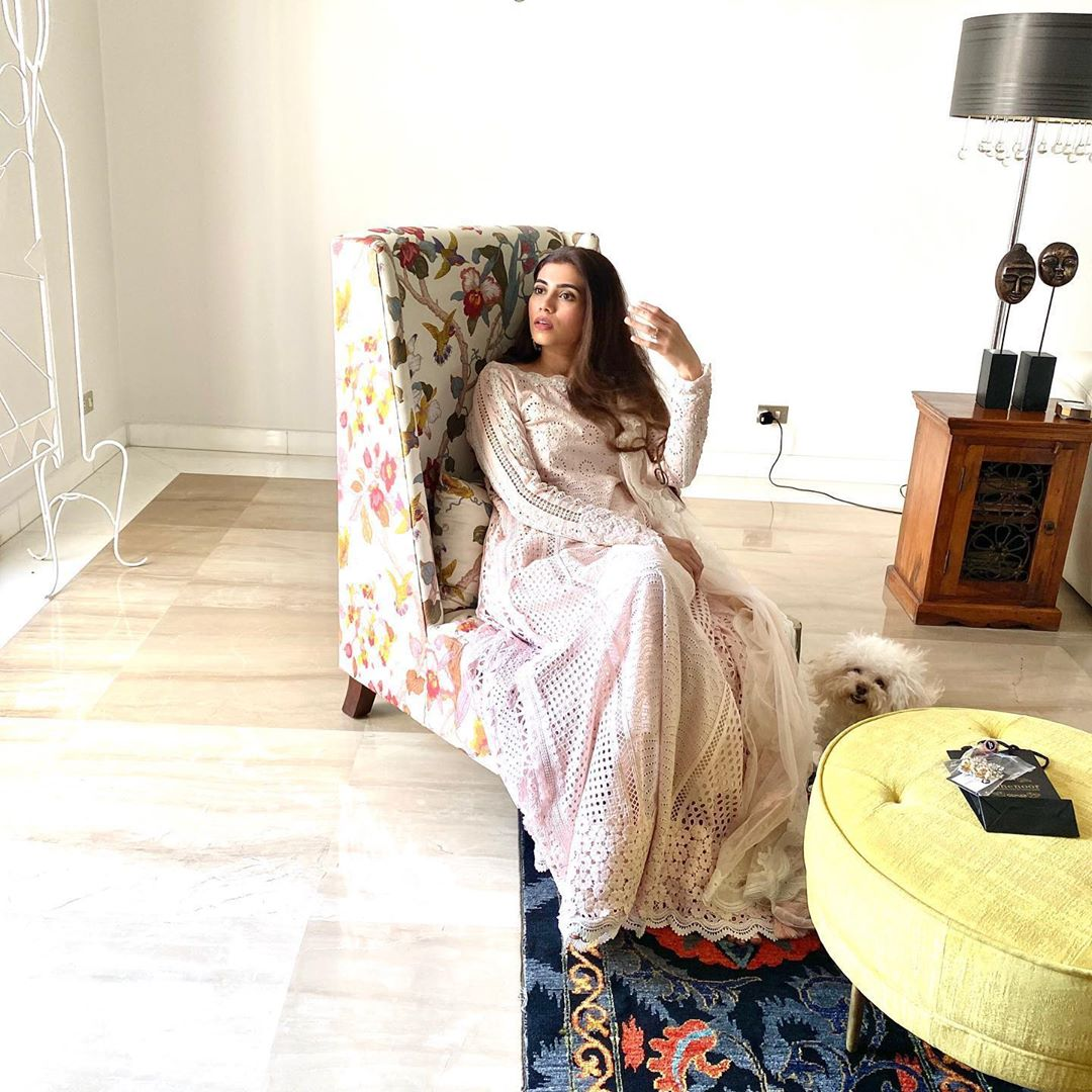 Actress Minna Rubina Tariq Bridal Photo Shoot for Elan