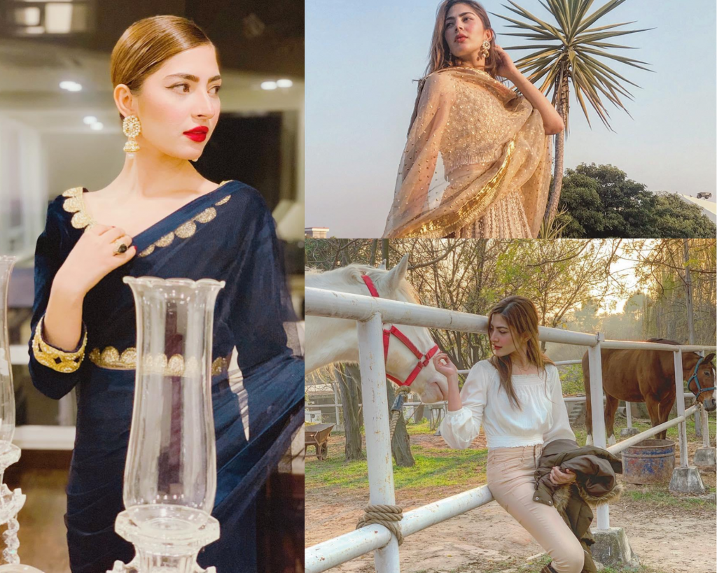 Sizzling Pictures Of Naimal Khawar