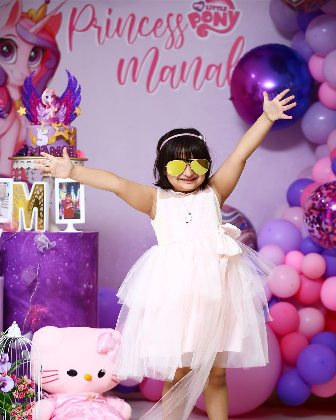 Actor Naveed Raza Daughter 5th Birthday Pictures