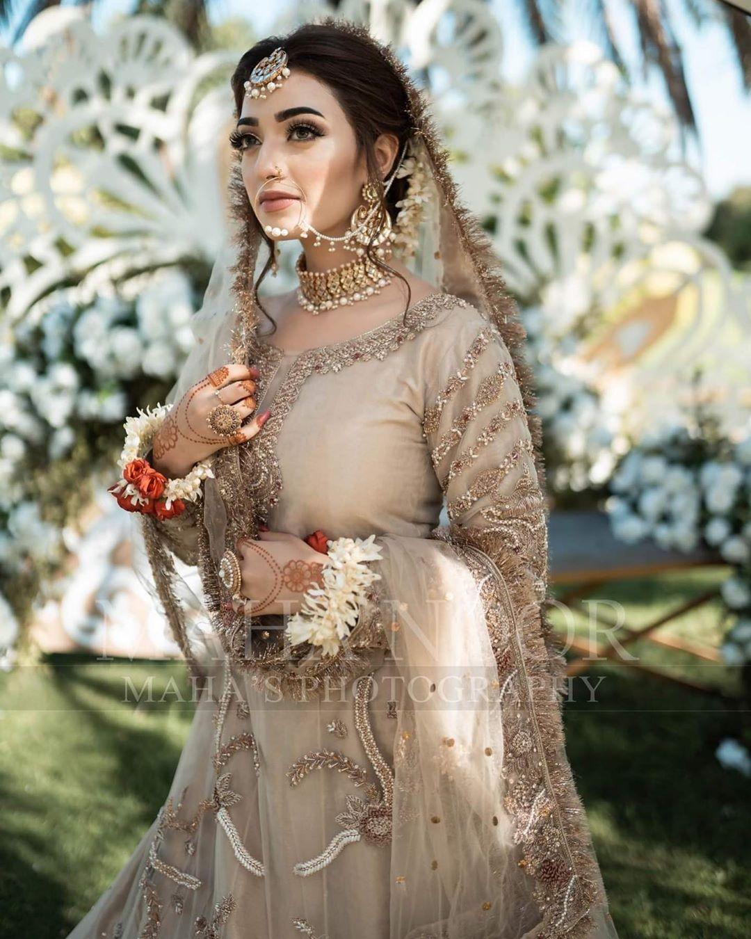 Drama Actress Nawal Saeed Beautiful Bridal Photo Shoot