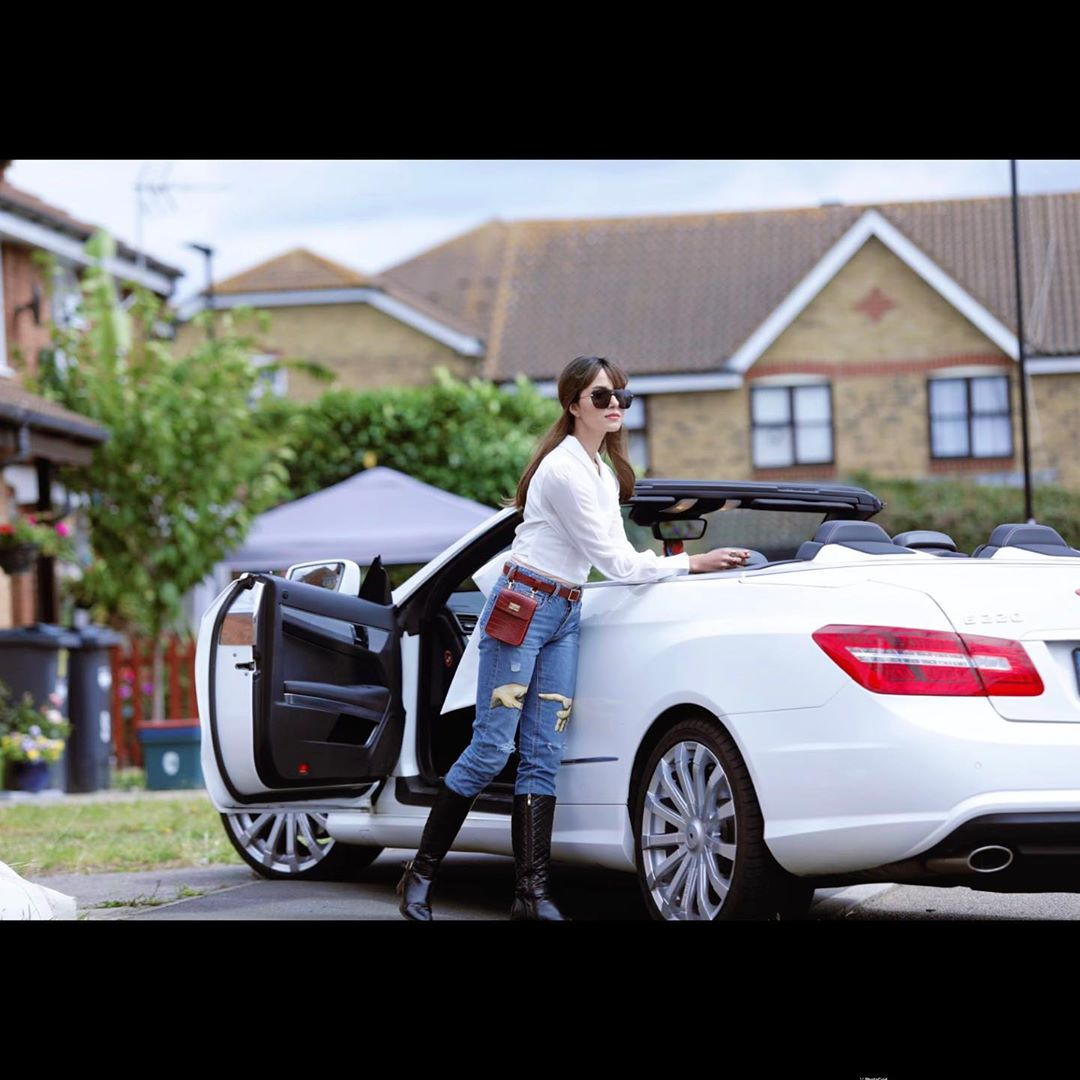 Actress Nimra Khan Latest Pictures from London