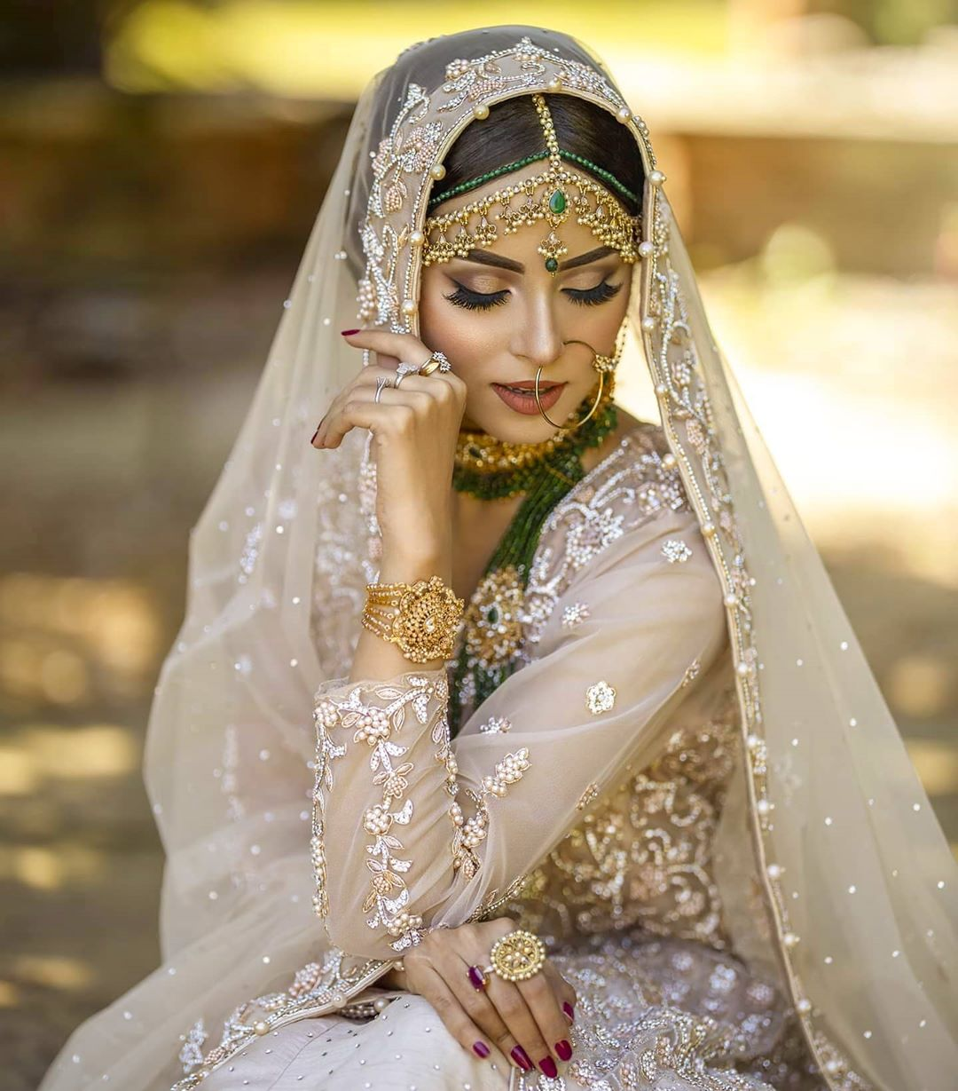 Nimra Khan Latest Beautiful Bridal Photo Shoot
