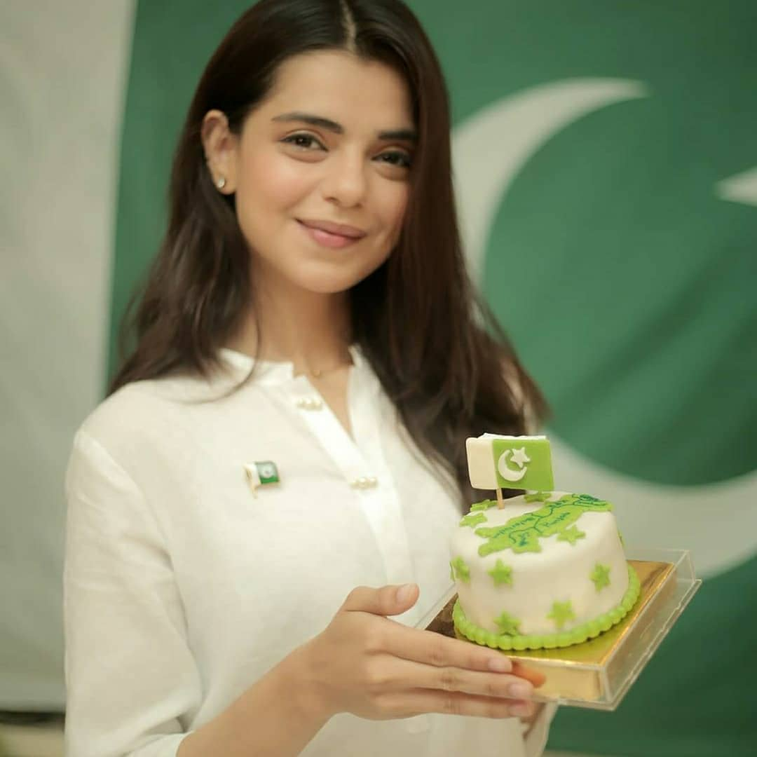 Pakistani Celebrities Pictures from independence Day