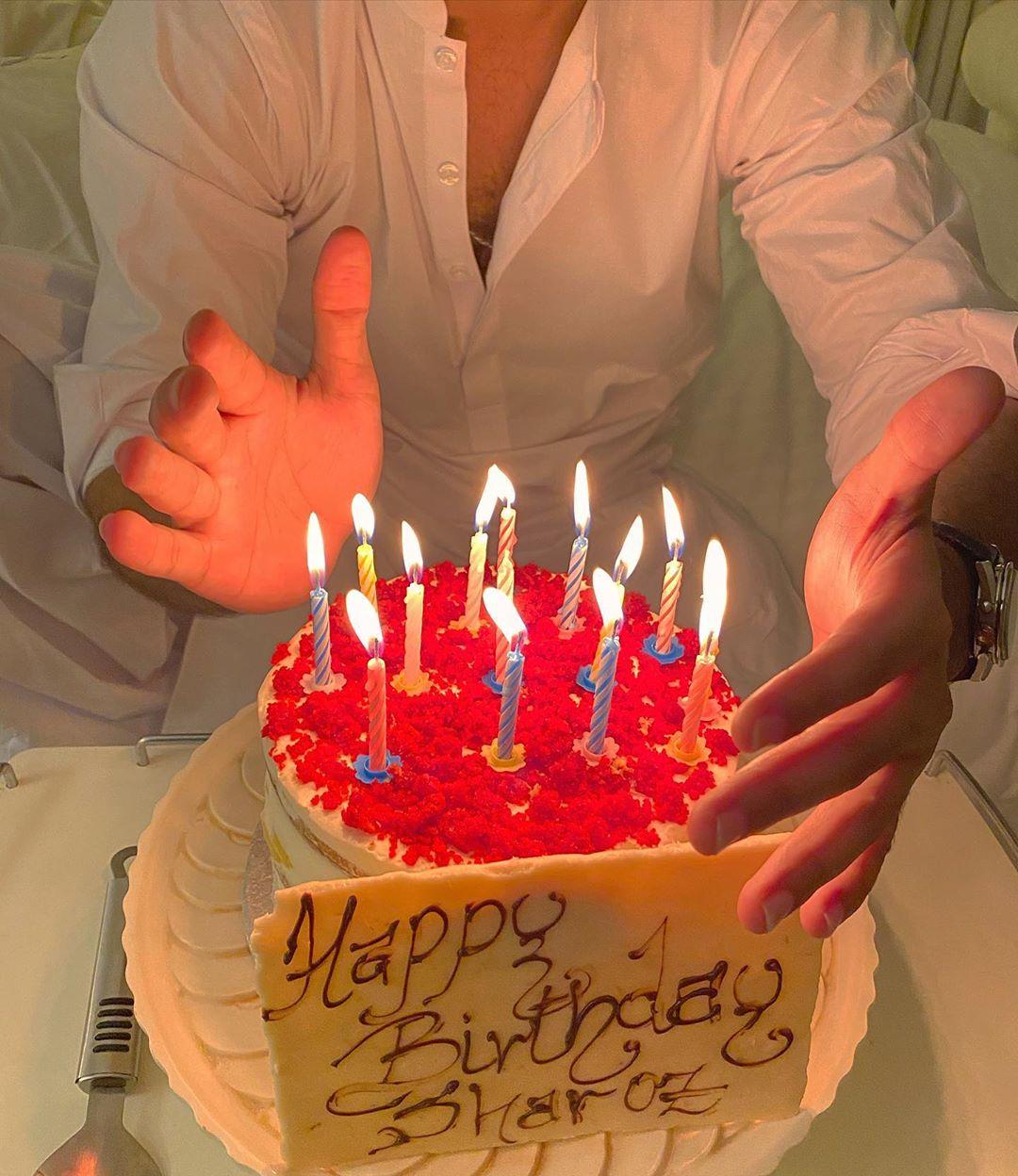 Sadaf Kanwal Celebrating her Birthday with Shahroz - Pictures
