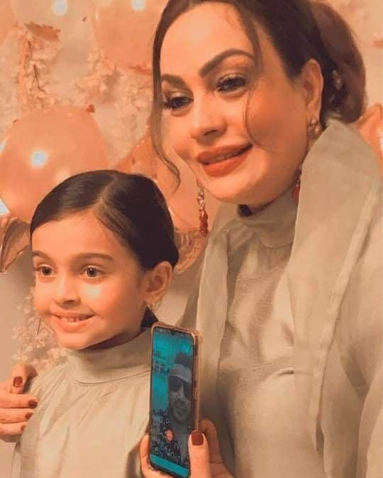 Sadia Imam Beautiful Daughter Meerab Birthday Pictures