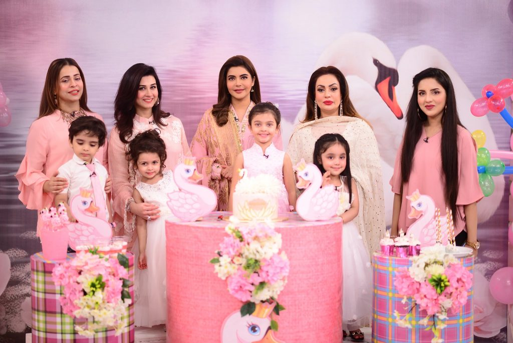 Here Are Pictures From Birthday Of Sadia Imam's Daughter