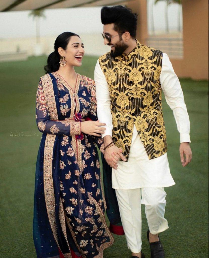 Sarah Khan And Falak Shabir Playing Some Fun Games
