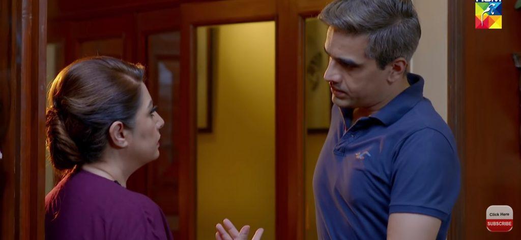 Atiqa Odho Felt Uncomfortable While Recording Romantic Scenes With Omair Rana