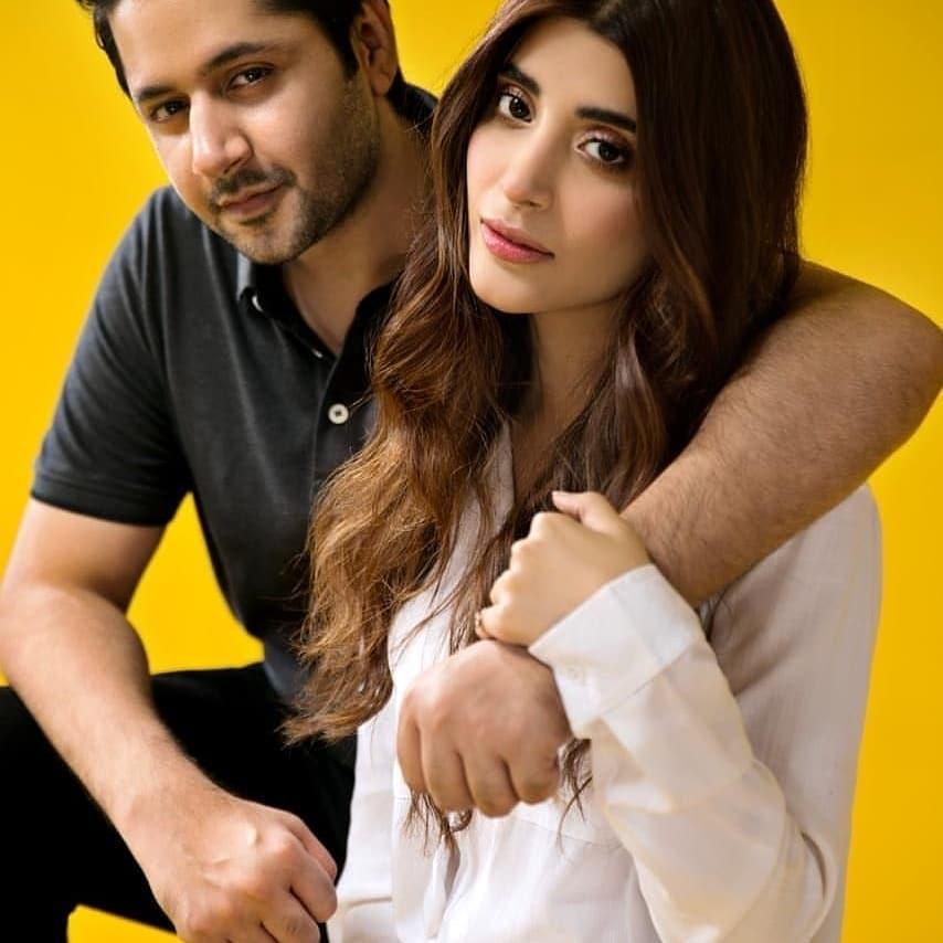 Sizzling Shoot Of Urwa Hocane And Imran Ashraf