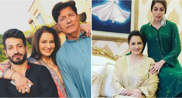 Stunning Eid Pictures Of Saba Faisals Family 37