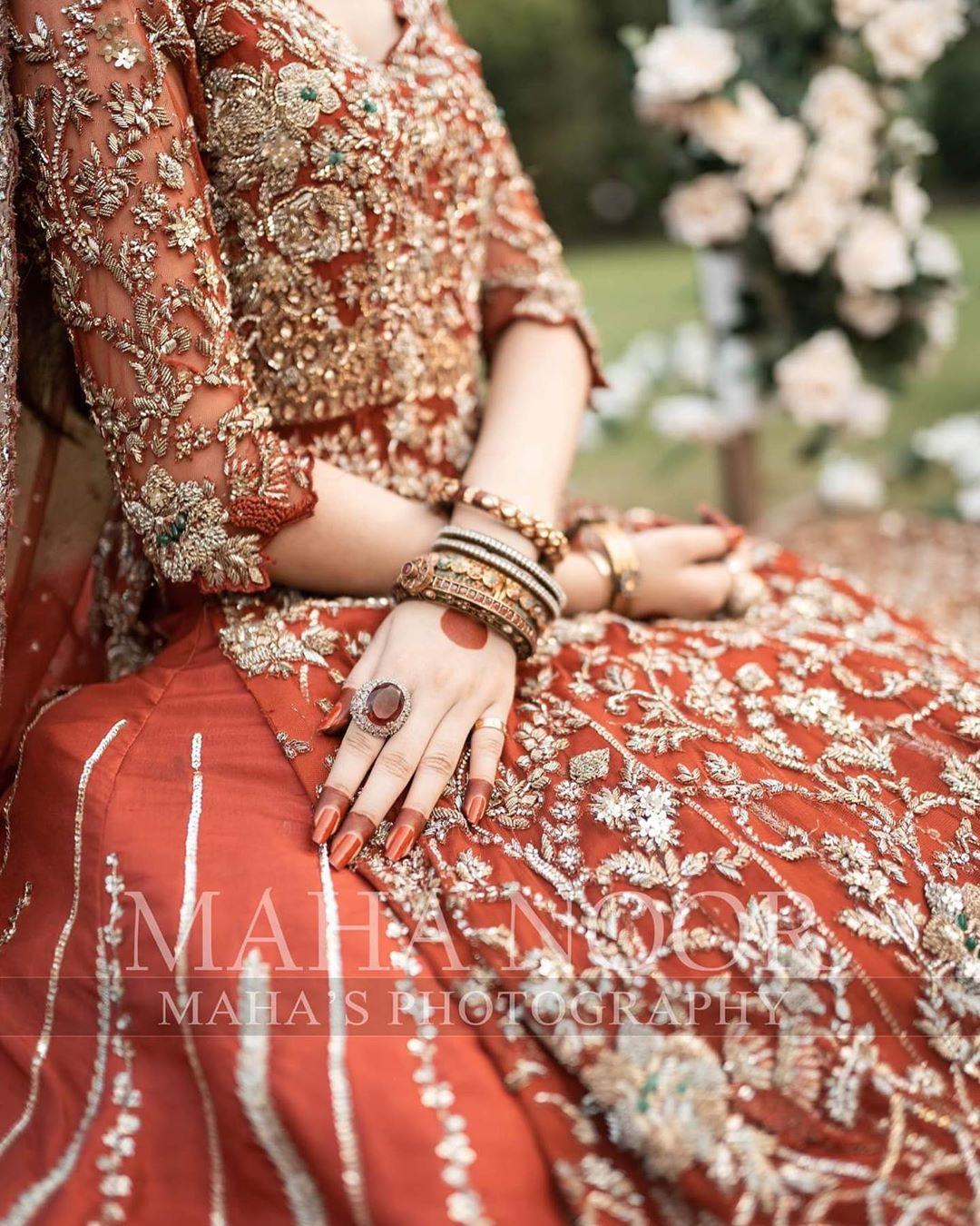 Syeda Tuba Aamir Beautiful Bridal Photo Shoot