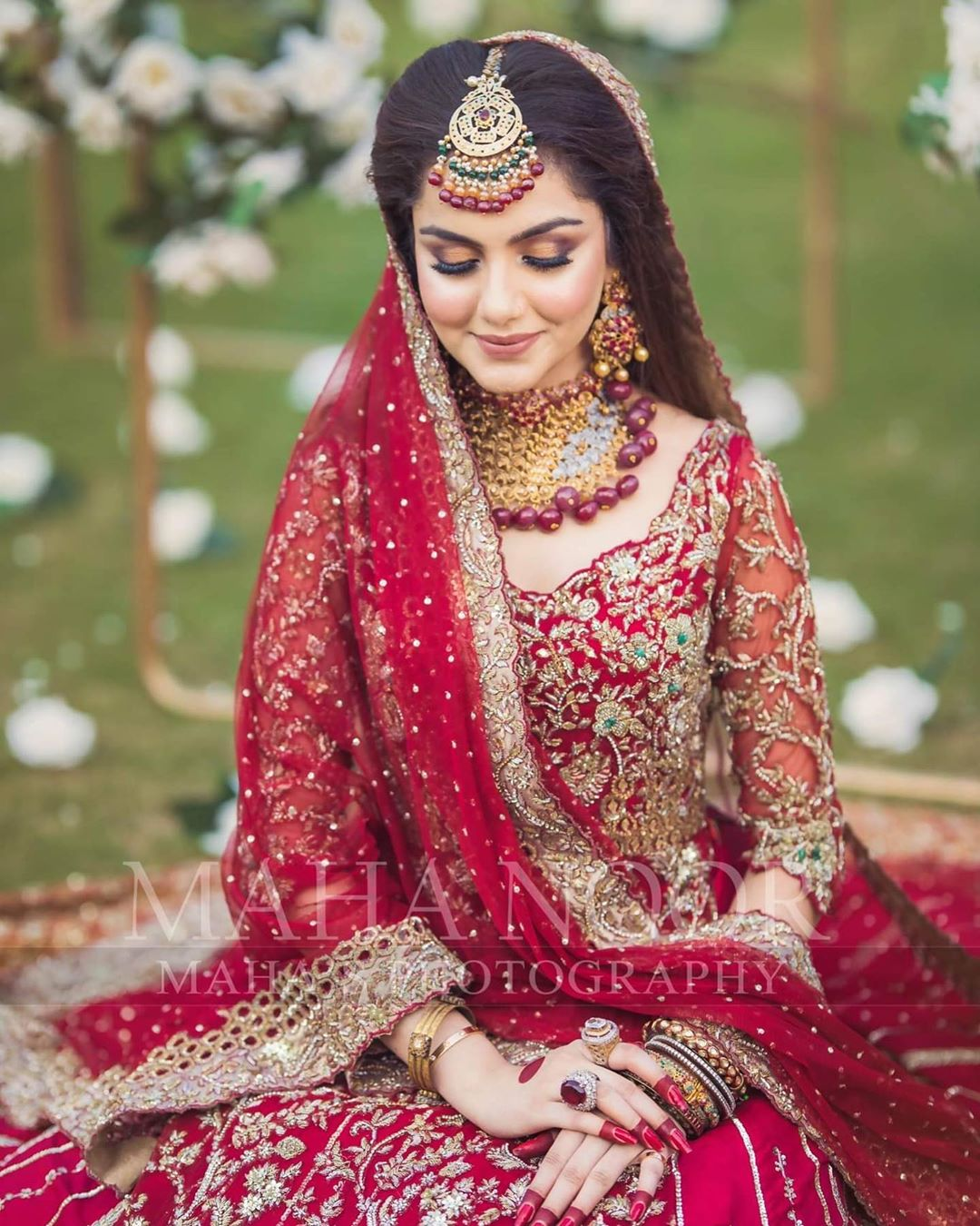 Gorgeous Syeda Tuba Aamir Latest Bridal Shoot
