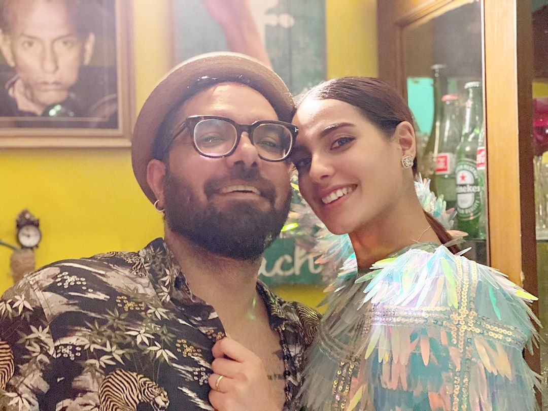 Yasir and Iqra Pictures from Party with Friends Last Night