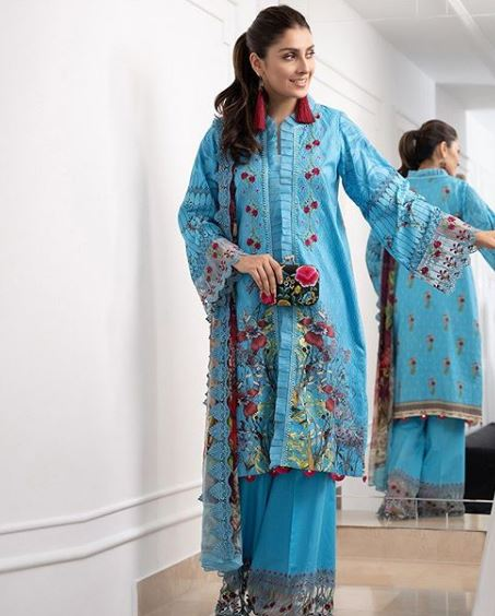 Ayeza Khan In The Latest Lawn Collections