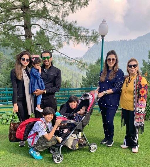 Aisam-ul-Haq Qureshi On A Family Vacation At Nathia Gali