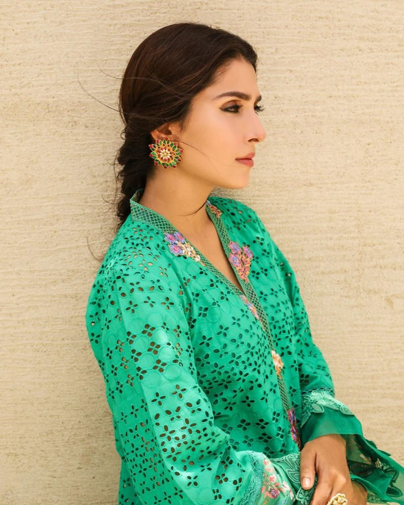 Exclusive Collection of Jhumka-Earrings that are Ayeza Khan's Favorite