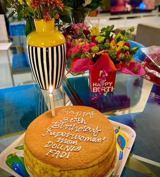Fakhar-e-Alam Surprises His Wife Dounia On Her 35th Birthday