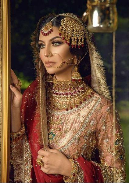 Latest Bridal Shoot Featuring Faryal Makhdoom