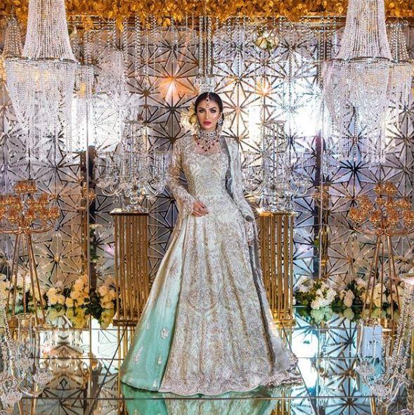 Faryal Makhdoom In A Bridal Shoot