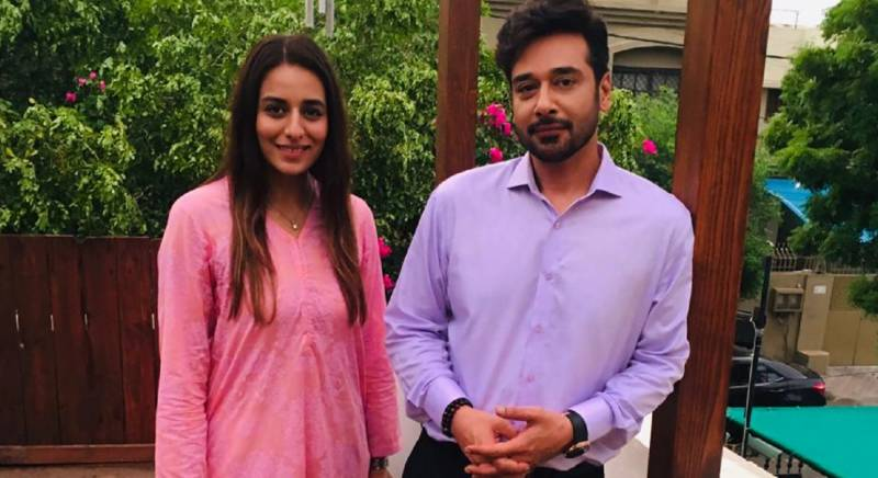 Actress Kinza Razzak Spotted At A Friend's Wedding