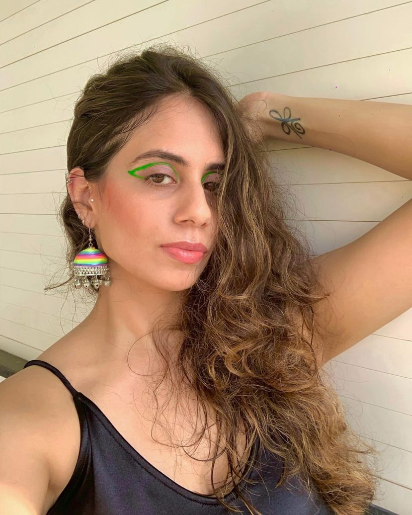Neha Khan's Latest Pictures In A Unique Fashion Style