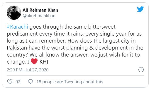 When There Is Rain In Karachi, There Is Rain On Twitter!