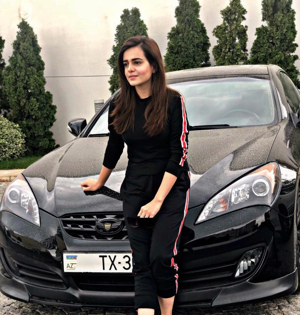 Sumbul Iqbal Khan's Love for Cars is Epic