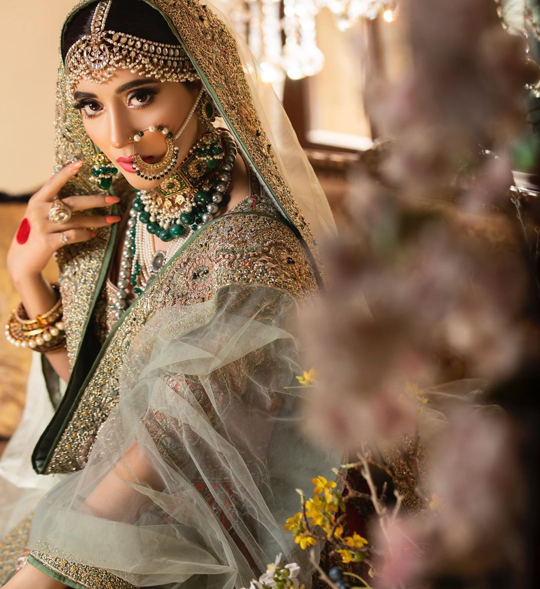 Urwa Hocane is Looking Stunning in her Latest Bridal Shoot
