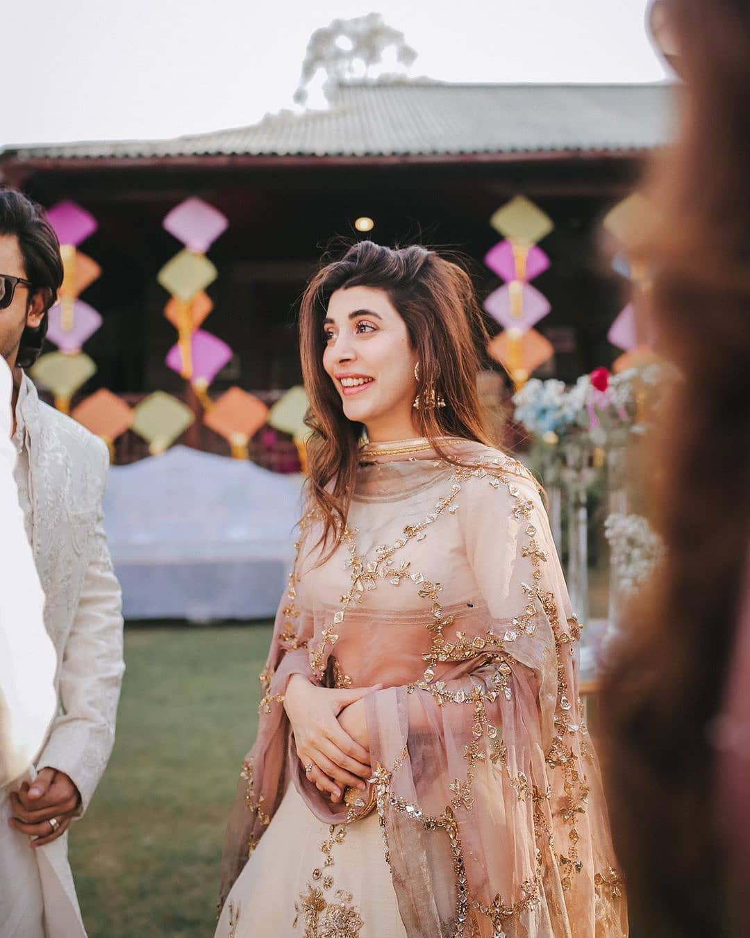 Urwa Hocane and Farhan Saeed Clicks From Friends Wedding