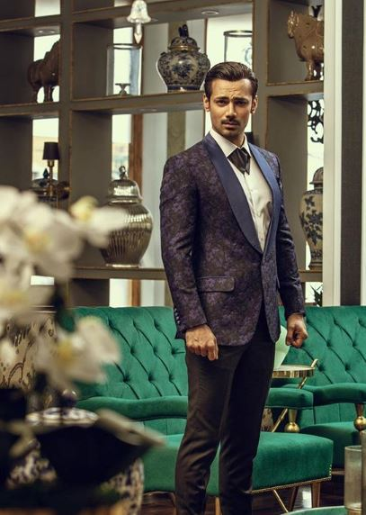 Zahid Ahmed In Luxury Evening Wear Collection By Emraan Rajput