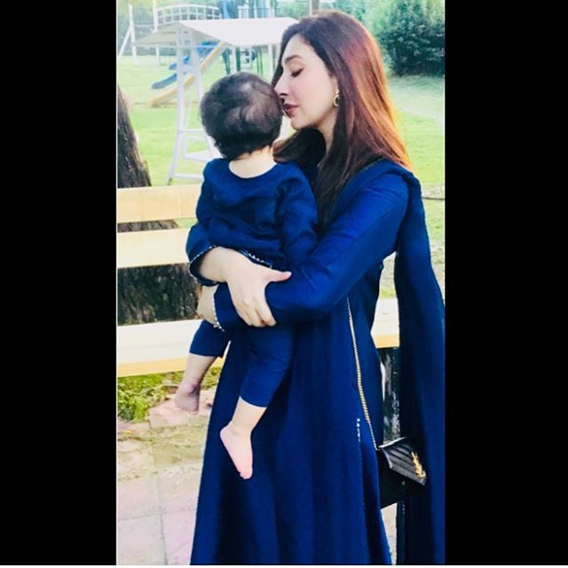 Aisha Khan Celebrating Birthday With Family