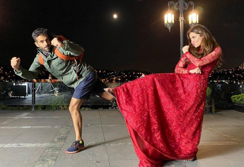 Adnan Malik Shared Memorable Clicks With Mahira Khan