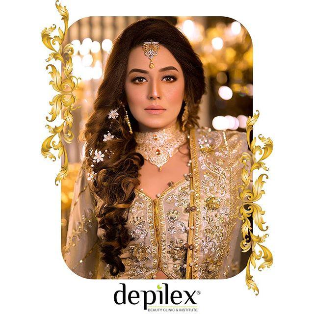 Actress Kinza Razzak's Latest Photo Shoot Of Depilex Clinic And Institute