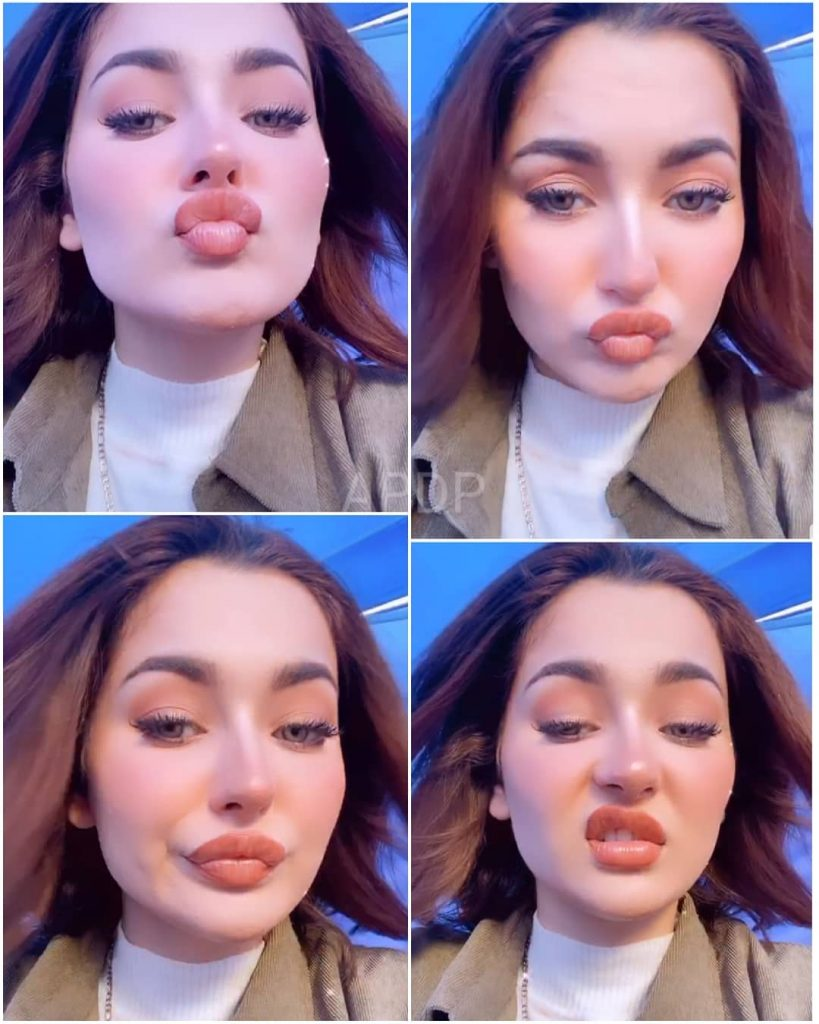 Hania Aamir Revealed The Reality Behind Her Big Lips